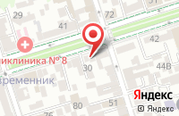 Схема проезда до компании Континел-Транс в Малом Исаково