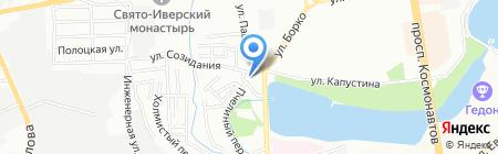47 параллель на карте Ростова-на-Дону
