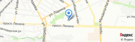 Интек на карте Ростова-на-Дону