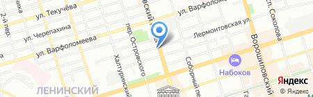 Алла на карте Ростова-на-Дону