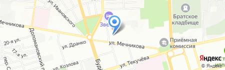 Рекламное пространство на карте Ростова-на-Дону