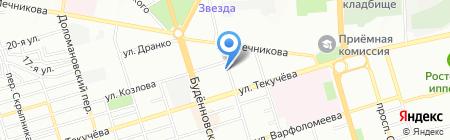 Мясная Лавка Тесей на карте Ростова-на-Дону