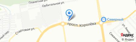 Новое Время на карте Ростова-на-Дону