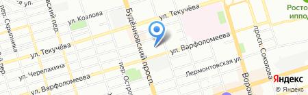 Абрис-плюс на карте Ростова-на-Дону