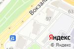 Схема проезда до компании Центр оплаты коммунальных платежей в Рязани