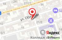Схема проезда до компании Юг-Медиа в Ростове-На-Дону