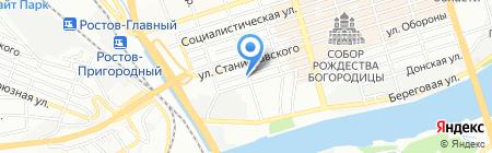 Электрик на карте Ростова-на-Дону