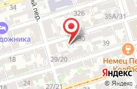 Схема проезда до компании Фирма Ивтекс в Ростове-На-Дону