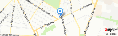 Эльф на карте Ростова-на-Дону
