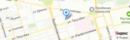 Миллениум-2 на карте Ростова-на-Дону