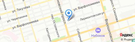 Отдых Без Забот на карте Ростова-на-Дону