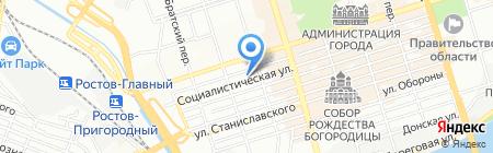 ЭлектроДонСервис на карте Ростова-на-Дону