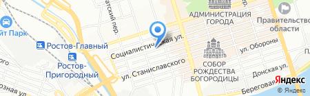 АЙС-СПОРТ на карте Ростова-на-Дону