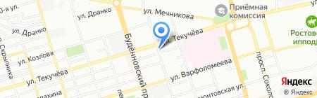 Алекс Студио на карте Ростова-на-Дону