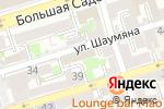 Схема проезда до компании Ваш дом в Ростове-на-Дону