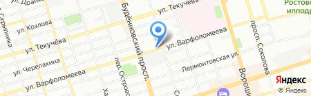Колледж экономики управления и права на карте Ростова-на-Дону