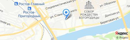 Банкомат ФКБ Юниаструм Банк на карте Ростова-на-Дону