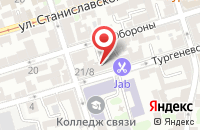 Схема проезда до компании Адв-Групп в Ростове-На-Дону