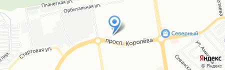 Дистан на карте Ростова-на-Дону