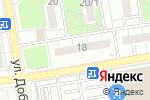 Схема проезда до компании Индустрия красоты в Ростове-на-Дону