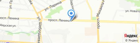 Матрица на карте Ростова-на-Дону