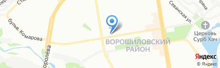 Банкомат Лето Банк ПАО на карте Ростова-на-Дону