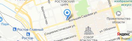 Старые друзья на карте Ростова-на-Дону
