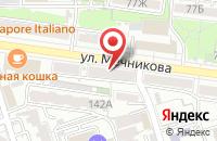 Схема проезда до компании Мебельторг в Ростове-На-Дону