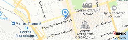 Детский сад №38 на карте Ростова-на-Дону