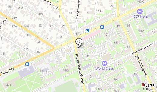 Дианка. Схема проезда в Ростове-на-Дону