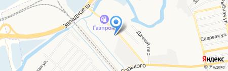 Кирпич+ на карте Батайска