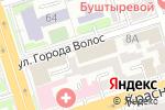Схема проезда до компании Правовые решения в Ростове-на-Дону