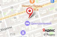 Схема проезда до компании Открытые Медиа Системы в Ростове-На-Дону