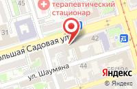 Схема проезда до компании Партнер в Ростове-На-Дону