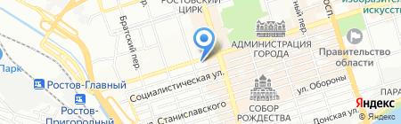 Арт Мари на карте Ростова-на-Дону