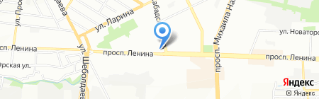Статус-Дон на карте Ростова-на-Дону