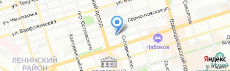 Детский сад №7 на карте Ростова-на-Дону