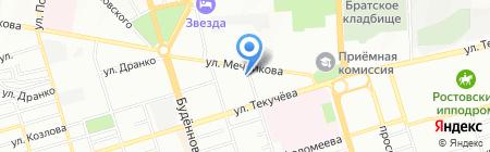 ДОН-КПД на карте Ростова-на-Дону