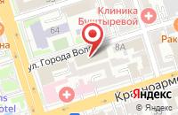 Схема проезда до компании DBC Group в Ростове-на-Дону
