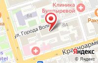 Схема проезда до компании Парамон-Ростов в Ростове-На-Дону