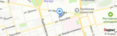 УНИКМА на карте Ростова-на-Дону