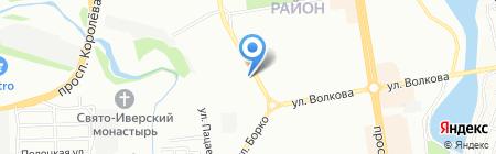 Супермаркет окон на карте Ростова-на-Дону