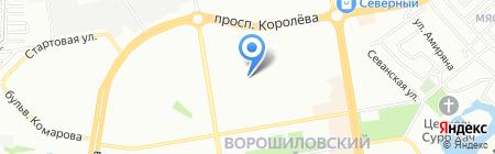 Детский сад №77 на карте Ростова-на-Дону