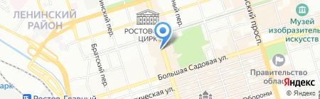 Донской Дом белья на карте Ростова-на-Дону