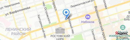 Банкомат АКБ Военно-Промышленный Банк на карте Ростова-на-Дону