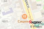 Схема проезда до компании Утка & Пельмень в Ростове-на-Дону