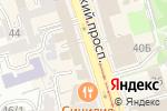 Схема проезда до компании Служба судебных приставов Ленинского района в Ростове-на-Дону