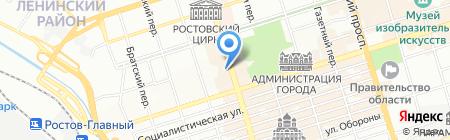 Korona на карте Ростова-на-Дону