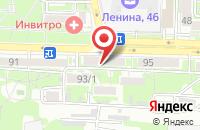 Схема проезда до компании Мастер Хобби в Ростове-На-Дону