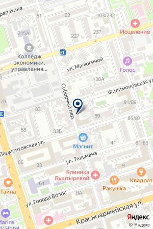 ТриалМедиаГрупп на карте Ростова-на-Дону